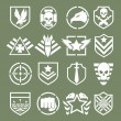 Military logos of special forces — Stock Vector #76234159