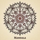 Józe meditační mandala ornament — Stock vektor