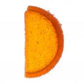 Back Lit - One Orange Citrus Jelly — Stock Photo