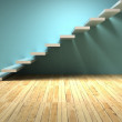 Abstract stairs in interior — Stock Photo #69619939
