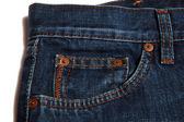 Bolso da calça jeans — Foto Stock