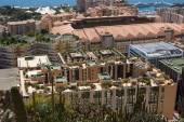 Monaco building roofs — Stock Photo
