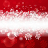 Christmas red background — Stok Vektör