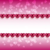 Valentine's day background — Stock Vector