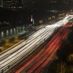 San Diego Freeway in West Los Angeles — Stock Photo #54203663