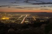 Simi valley Californië bergzicht — Stockfoto