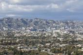 Los Angeles Storm Clouds — Stock Photo