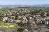 Suburban Valley — Stock Photo