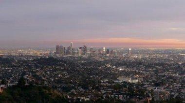 Los Angeles Dusk — Stock Video