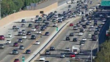 San Diego Freeway in Los Angeles — Stock Video