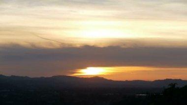 California Sunset Time Lapse — Wideo stockowe