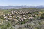 Suburban Valley Housing Tracts — Stock Photo