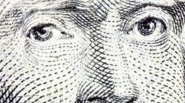 Thomas Jefferson Macro Zoom — Stock Video
