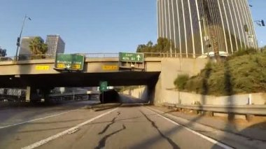 Los Angeles Downtown Ramp — Stock Video