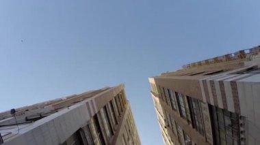 Industrial Los Angeles Alley — Stock Video