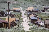 Bodie Ghost Town Tourists — Stock Photo
