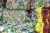 Reciclaje plastico — Foto de Stock
