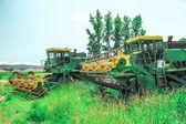 Cosechadoras de trigo — Foto de Stock