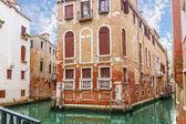 Canal in Venice, Italy — Foto de Stock