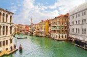 Kanal i venedig, italien — Stockfoto