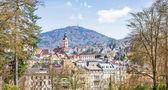 バーデン = バーデンのパノラマ風景。ドイツ、ヨーロッパ — ストック写真