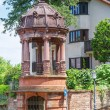Details of the architecture of the old town of Heidelberg. Germa — Stock Photo #74405141