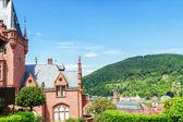Draufsicht der Heidelberg — Stockfoto