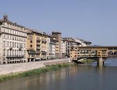 Ponte vecchio, florence, i̇talya — Stok fotoğraf