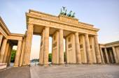 Brandenburg Gate in Berlin, Germany — Stock Photo
