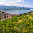 Old ruins of castle in Ohrid, Macedonia — Stock Photo #58761207