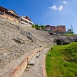 Roman amphitheater in Durres, Albania — Stock Photo #62675981