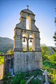 Old belfry on Corfu island, Greece — Stock Photo