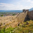 Old ruins of castle in Ohrid, Macedonia — Stock Photo #65036997