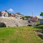Roman amphitheater in Durres, Albania — Stock Photo #66283245