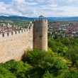 Old ruins of castle in Ohrid, Macedonia — Stock Photo #68233495