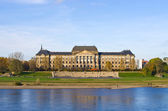 Saxon State Chancellery building - Dresden, Germany — Stock Photo
