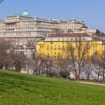 Royal palace in Budapest, Hungary — Stock Photo #73001507