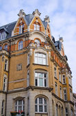 Old tenement house in Poznan, Poland — Stock Photo