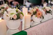 Düğün mumlar — Stok fotoğraf