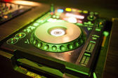 Mixing Console at the night club — Stock Photo