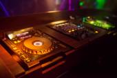 Mixing Console at the night club — Foto de Stock