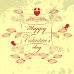 Vector Cute Valentine Illustration — Stock Vector #63523069