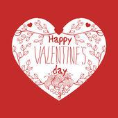 Vector Valentine background — Stock Vector