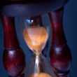 Hourglass on dark background — Stock Photo #53232161