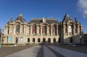 Museum of Fine Arts of Lille, Nord, Nord-Pas-de-Calais, France — Stock Photo