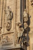 Cathedral of Milan, Lombardy, Italy — Stock Photo