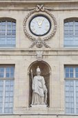 Architecture of Dijon, Cote-d'Or, Burgundy, France — Stock Photo