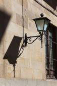 Streetlamp in Salamanca, Castilla y Leon, Spain — Stock Photo