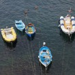 Boats in Riomaggiore, La Spezia, Liguria, Italy — Stock Photo #57089683
