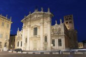 Church in Mantova, Lombardy, Italy — Foto Stock